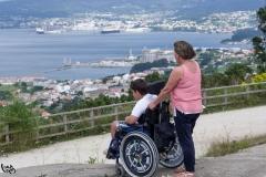 Vistas de la ría de Ferrol.