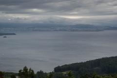 Vista de la Coruña