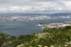 Vista de Ferrol