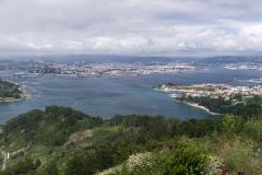 Vista de la ría de Ferrol.